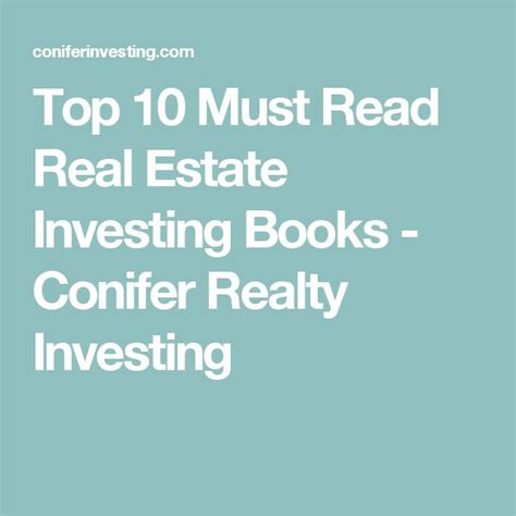 real estate investing books top 10 must read real estate investing books real estate