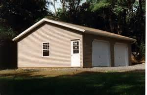 simple two car garage do it yourself garage building