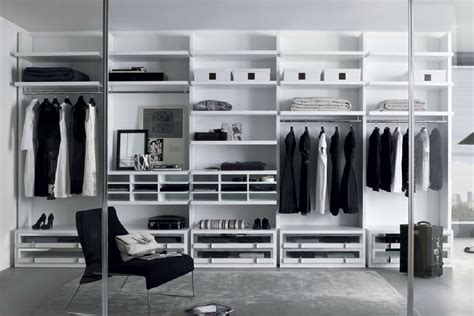 modern walk in closet make your space millimetrica walk in closet by misura emme