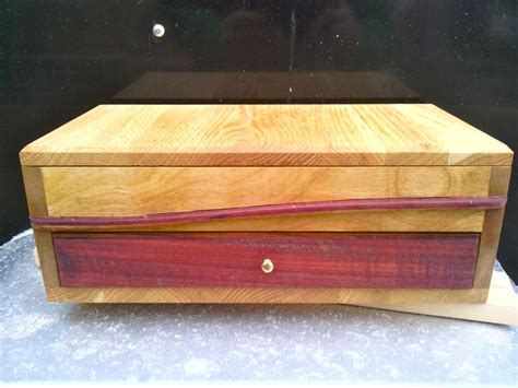 buy a custom solid wooden jewelry box made to order from