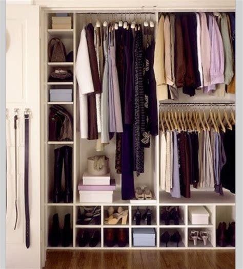 organize wardrobe closet organization bedroom pinterest