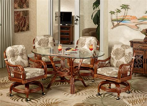 tropical dining room sets tropical dining room furniture tropical island collection