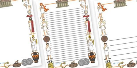 Wedding Border Twinkl by Ancient Greece Page Borders Twinkl Griechenland