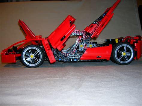 Lego Ferrari Enzo by Lego Ferrari Enzo 8653 Modified A Photo On Flickriver