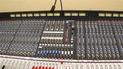 Mixer Allen Heath Ml 5000 allen and heath ml 4000 avi