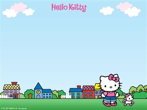 hello kitty wallpaper summer hello kitty summer desktop wallpaper wallpapersafari