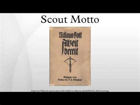 Scout Motto by Scout Motto
