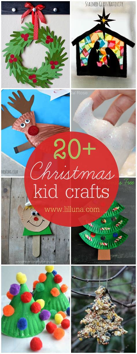 christmas kid crafts