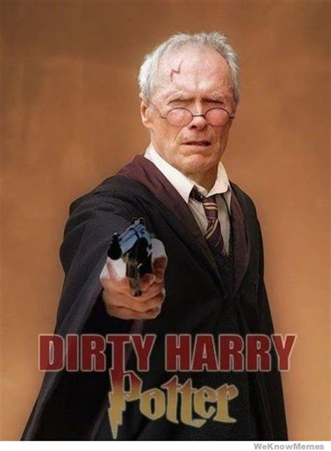 Memes Harry Potter - dirty harry potter weknowmemes