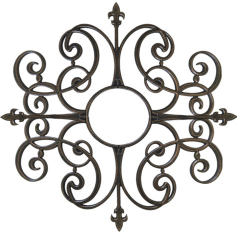 Iron Ceiling Medallion by Faux Iron Ceiling And Wall Medallion Ceiling