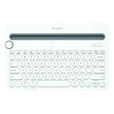 Logitech Wireless Bluetooth Keyboard K480 Keyboar logitech k480 tablet wireless bluetooth keyboard white