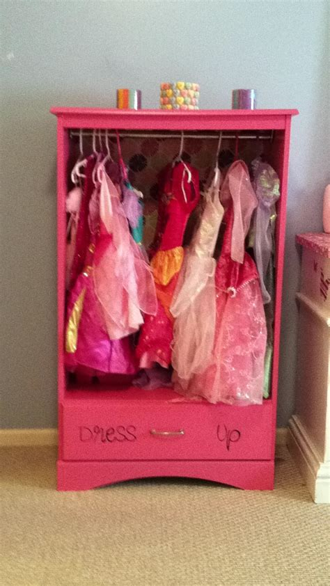 girls dress up armoire repurposed armoire dress up playroom pinterest