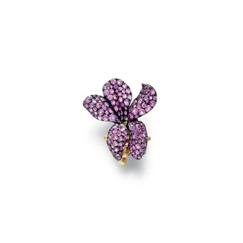 Dparis Violet Ring a pink sapphire violet ring by jar christie s