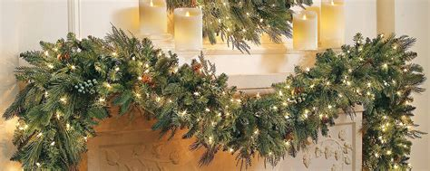 6ft cascading fireplace garland six ways to make your mantel magical home style