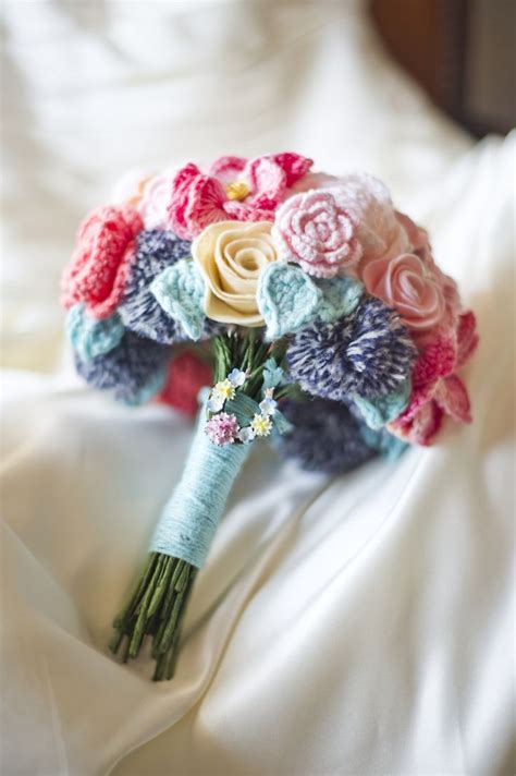 Wedding Bunch Of Flowers by Crochet Bunch Of Flowers Crochet And Knit