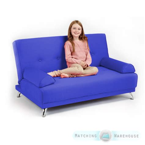toddler sofa uk childrens cotton twill clic clac sofa bed with armrests