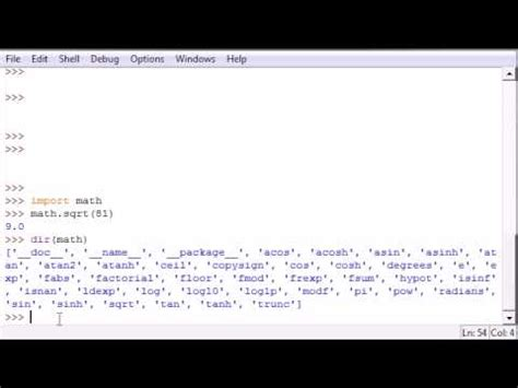 python tutorial youtube bucky python programming tutorial 40 getting module info
