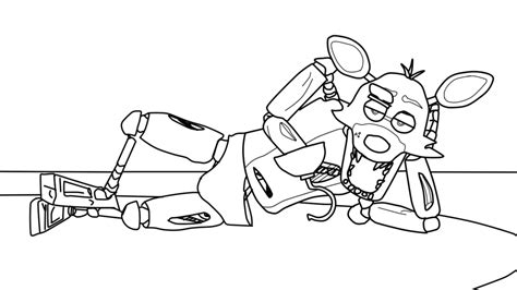 Fnaf 4 Coloring Pages by Fnaf Animated Free Coloring Pages