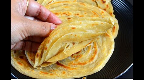 lachha paratha flaky paratha multi layered indian