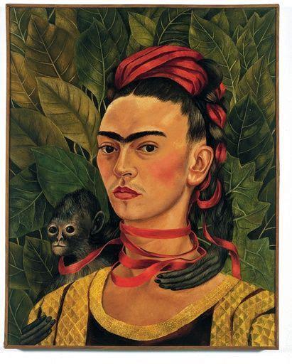 frida kahlo i paint 0500301239 self portrait with monkeys frida kahlo s painting frida kahlo monkey paintings