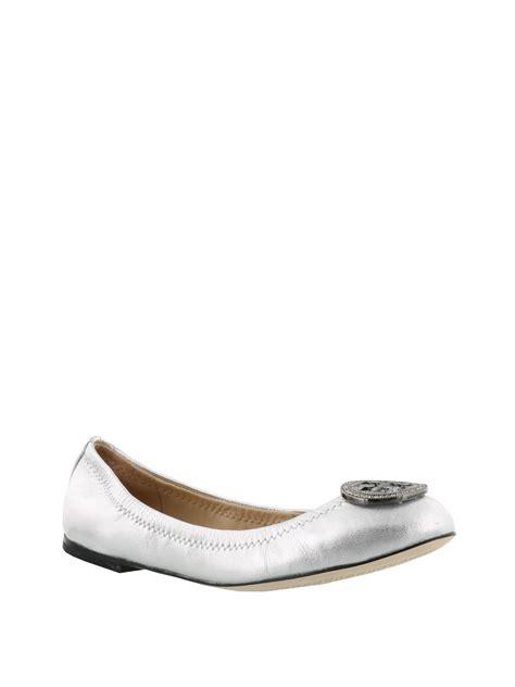 Flat Shoes Gravici Df 002 liana silver flat shoes by burch flat shoes ikrix