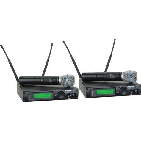 Mic Shure Ulx 4nkoper Alumenium Wireless shure ulx professional series dual wireless ulxp24d beta87c g3