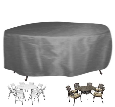 Outdoor Garden Heavy Duty Patio Round Table And Chairs Set Outdoor Patio Table Covers