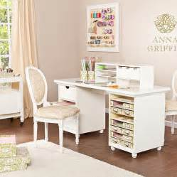 Craft Desk With Storage by Griffin 174 Craft Room Paper Storage Desk Base 7236288