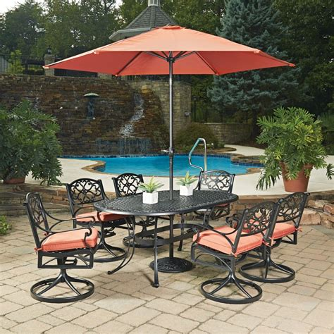 outdoor table ls for patio outdoor dining furniture with umbrella
