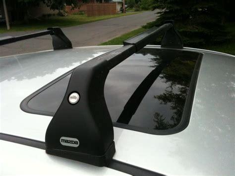 Mazda Roof Rack by Mazda 3 Oem Roof Racks Transferability Between Years