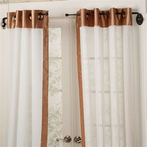 swing rod curtain door curtain rod swing arm home design ideas