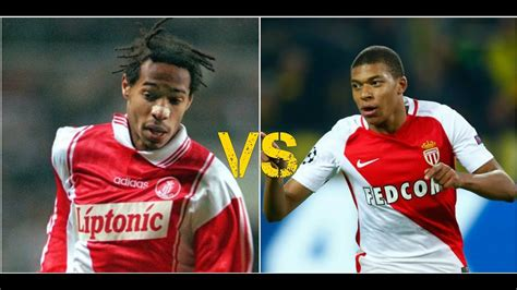 kylian mbappe thierry henry kylian mbappe vs joven thierry henry youtube
