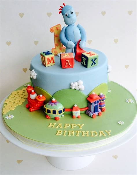 55 Best Images About In The Night Garden Cakes On In The Garden Cake Ideas