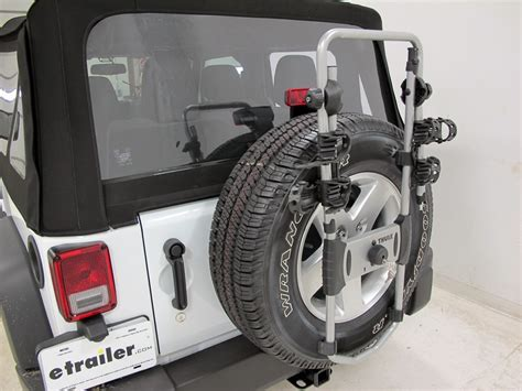 Jeep Spare Tire Bike Rack 2016 Jeep Wrangler Thule Spare Me 2 Bike Rack Spare Tire