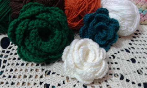 video tutorial how to crochet how to make crochet flowers video crochet and knit