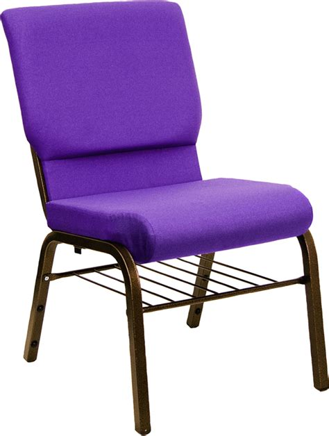Chairs For Church Sanctuary by New Purple Hercules Chair With Book Rack Church