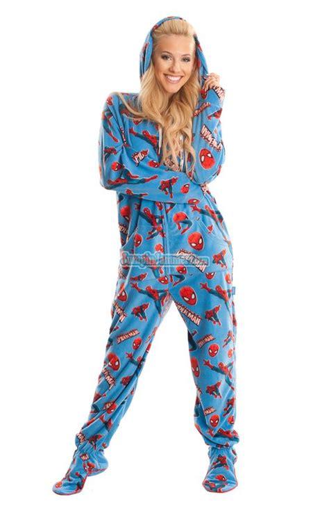 footed pj s marvel comics pajamas footie pjs onesies one