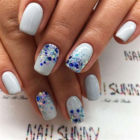 blue ombre nails best 25 glitter ombre nails ideas only on