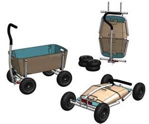Easy folding beach wagon faltbare bollerwagen opvouwbare
