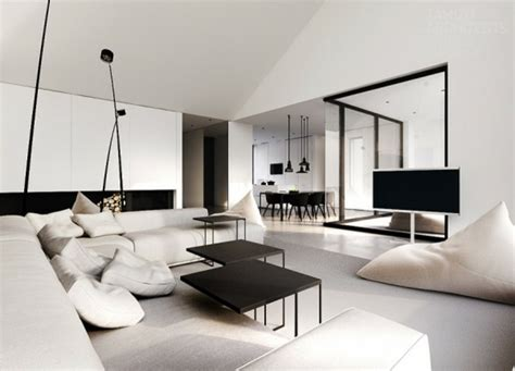 modern home interior decorating d 233 co maison int 233 rieur moderne en noir et blanc