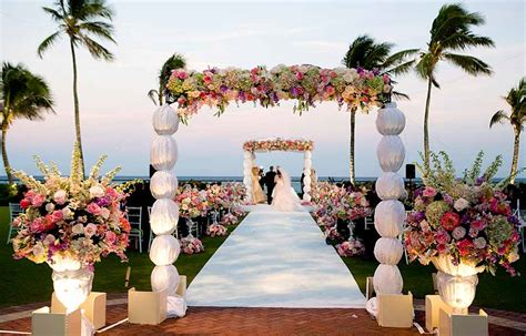 wedding ceremony etiquette walking the aisle in style favors
