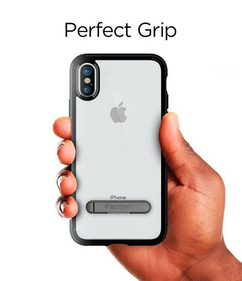Spigen Neo Hybrid Apple Iphone X Jet Black spigen ultra hybrid s skal till apple iphone x jet black themobilestore