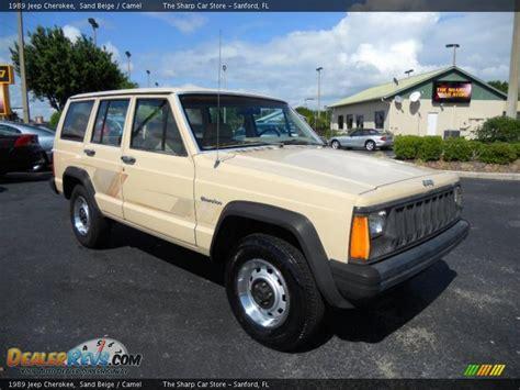 beige jeep 1989 jeep sand beige camel photo 3