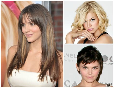 face shape hairstyle the most flattering haircuts by face shape