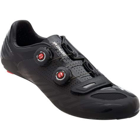 road bike shoe reviews bike24 specialized s works road shoe matte black