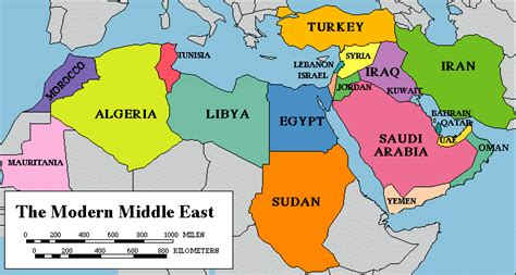 middle east map africa and southwest asia maps human geography