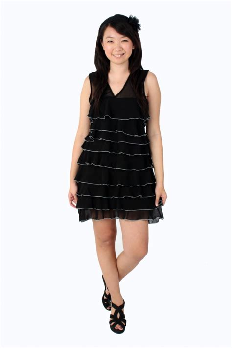 Layered Dress tier layered dress the label junkie