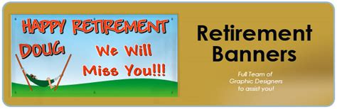 printable retirement banner 6 best images of happy retirement template printable
