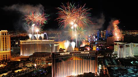 las vegas strip  years fireworks hd wallpaper