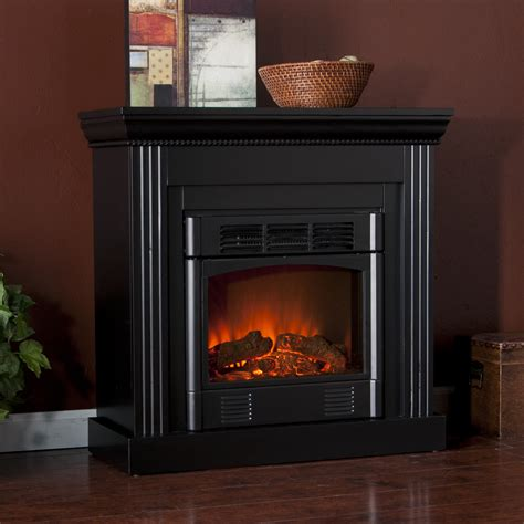 Electric Black Fireplace by Martin Bastrop Convertible Electric